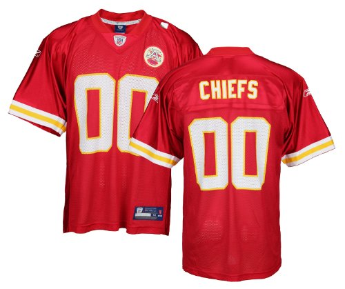 Kansas City Chiefs NFL Mens Team Replica Jersey, Red (Large) [Misc.]