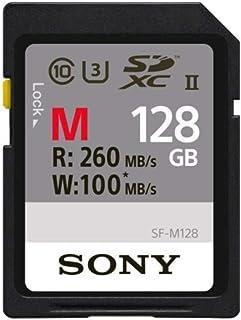 Sony SDXC 128GB UHS-II 260MB/s 4K対応 U3 Class10 SF-M128 ソニー [並行輸入品]