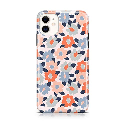 Casely iPhone 11 Phone Case - Field of Flowers | Pastel Floral Case - 360 Degree Coverage for Your Phone - Precise Cutouts, 1mm Raised Lip Camera Protection - Classic