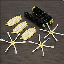 DORLIONA 8pcs Filters with Brush Kit 6-armed Brush for iRobot Roomba 500 Series Vacuum Parts