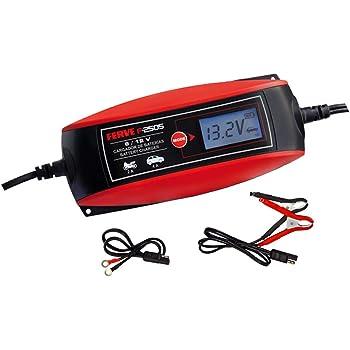 Comprobador de Bater/ía y Alternador para todas las Bater/ías de Coche y Moto 12V de Plomo-/Ácido 3.5A//1A Cargador de bater/ías y Mantenedor Digital//LCD BC Battery Controller BC 3500 EVO+