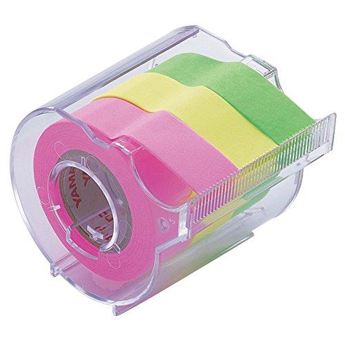 ヤマト 付箋 メモック ロールテープ カッター付き 15mm×10m RK-15CH-B
