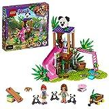LEGO Pulse Theme Friends Casa del Árbol Panda Set de JuegoconOliviay Figuras de Animales,Serie Rescate en La...