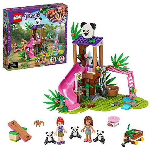 LEGO 41422 Friends Playset La casetta sull'albero del panda con...