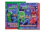 Panini PJ Masks: Mi primer amigo (libro de amigos en el jardín de infancia) + Mi bloc de preescolar superfuerte.