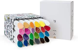 Miya Himi Twistable Gel Crayons 12/24/36 Colors; Washable, Bolder, Pastel, Jumbo for Crayon, Pastel, Watercolor Art Supplies Suitable Kids/Toddlers/Preschooler/Adults(24)