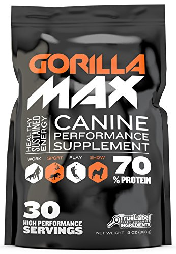GORILLA MAX Protein Muscle Supplement for Dogs