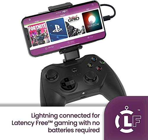 AMOYEE Mobile Controller, Mobile Game-Controller for PUBG, Android Game-Controller for Android/iOS, Wireless Remote Controller Gamepad, Mobile Gaming Controller unterstützt Mobile Key Mapping