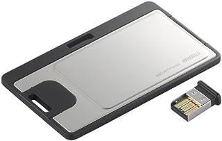 iBUFFALO Bluetooth4.0対応 PC用セキュリティーカード Bluetooth4.0対応USBアダプター付 ブラック BSBT4PT02SBK