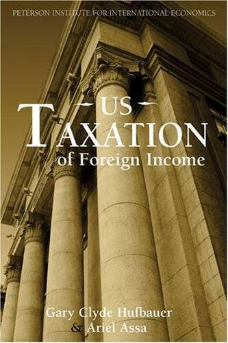 U.S. Taxation of Foreign Income