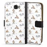 DeinDesign Étui Compatible avec Huawei Y6 II Compact Étui Folio Étui magnétique Winnie l'ourson...