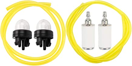 Leopop PP031 Primer Bulb for Poulan PP036 PP133 PP135 PP136 PP333 PP335 PP336 PP338PT PP446T PPB100 PPB200 PPB300 SM132 Fuel Line Fuel Filter Tune Up Parts Kit