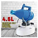 CHUDAN Electric ULV Fogger Sprayer 4.5 L Intelligent Atomizer Spray, Adjustable Disinfection Machine Mosquito Killer Nebulizer Sterilizer Anti Epidemic, 8M-10M Spray Distance