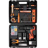 LETTON Power Tools Combo Kit with 16.8V Cordless Power Drill Set and...