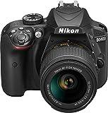 Nikon D3400 - [Versión Nikonistas] Kit cámara réflex 24.2 MP con objetivo estabilizado 18-55 AFP DX VR (LCD, Full HD), negro