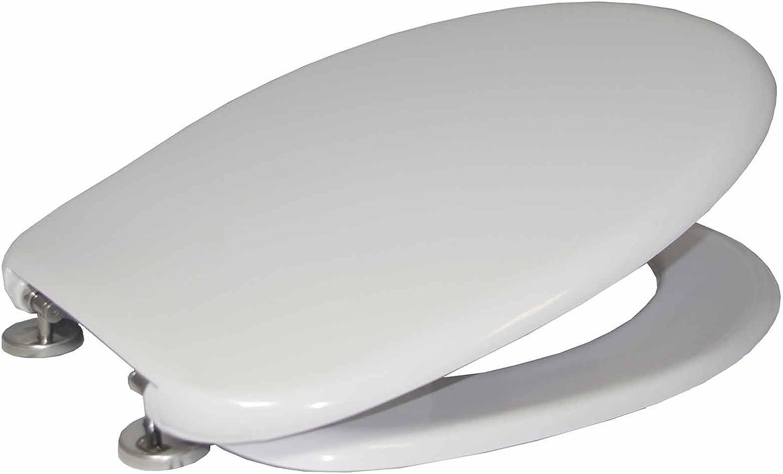 Celmac WHITE VIP Soft Close Toilet Seat