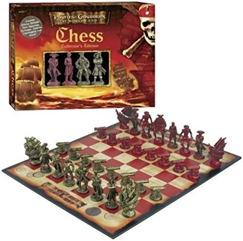 Pirates of the Caribbean  At World's End Collector's Edition Chess Set by USAopoly