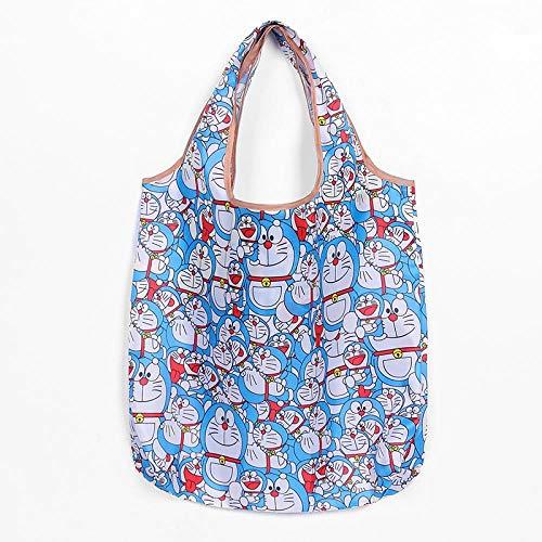 HPPSLT Bolsa de la compra plegable, respetuosa con el medio ambiente, regalo de señoras, plegable, reutilizable, bolsa de viaje, bolsa de hombro portátil, tamaño pequeño, 22 (color: 6)