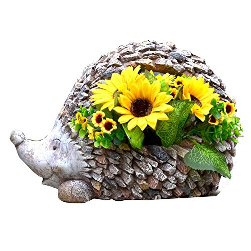 Decoración de macetas Escultura de jardín Paisaje Decorativo Tridimensional Creativo al Aire Libre, Sunflower + Flowerpot
