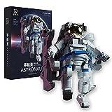 1515 Teile NASA Spaceman Astronaut Building Block Model,Juego de bloques de construcción de abrazadera compatibles con Lego astronaut,22 * 21 * 32cm