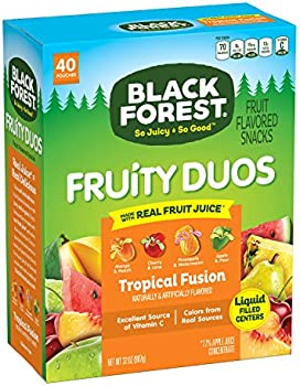 40-Pack Black Forest 0.8 Oz Fruity Duos Fruit Snacks