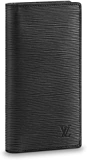 Epi Leather Noir Brazza Wallet M60622