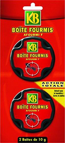 avis anti fourmis professionnel Boîte d'alibate KB x2