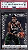 2013-2014 Panini PRIZM Giannis Antetokounmpo - Milwaukee Bucks Basketball Rookie Card - GRADED PSA 10 GEM MINT - RC Card #290. rookie card picture