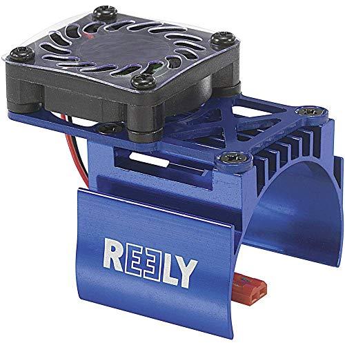 Motor-Kühlkörper mit Ventilator Ventilatorposition: mittig sitzend Passend für Modellbau-Motor: 540er Elektromotor Reel