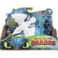 Dreamworks Dragons, Lightfury and Hiccup, Dragon