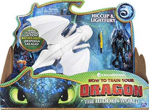 Dragons   Viking Hiccup Lightfury: Figuras