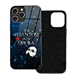 Lucky Star The Phantom of The Opera iPhone 12 Glass Phone Case Protective Shell