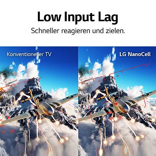 LG 65NANO917NA 164 cm (65 Zoll) NanoCell Fernseher (4K, 100 Hz, Smart TV) [Modelljahr 2020]