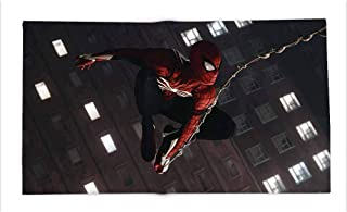 Yloveme Double-Sided Printing Blanket Spiderman Advance Suit All Season Blanket for Bed 60x60 inches