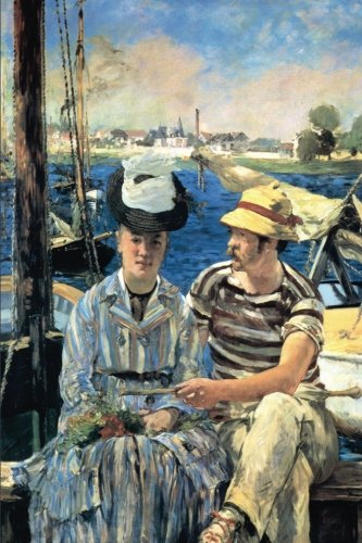 """""""Argenteuil"""" by Edouard Manet - 1874: Journal (Blank / Lined) (Art of Life Journals)"""