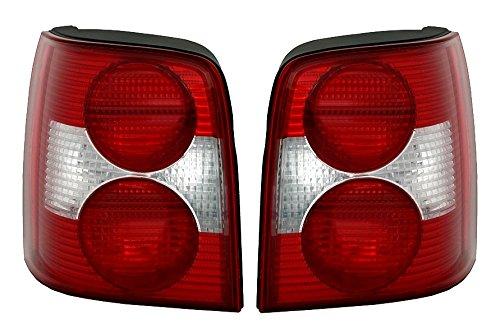 AD Tuning DEPO Rückleuchten Set Links rechts in Rot Weiß Heckleuchten Rücklichter