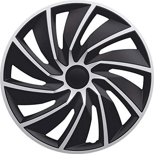 kh Teile Radkappen 15 Zoll Turbo schwarz/Silber 15
