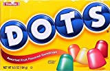 Dots Assorted Flavors Gumdrops Candy 6.5 Oz (Pack of 3)