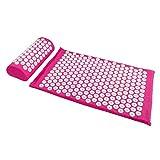 Akupressurset mit Tragetasche - Pink 2-teiliges Set - Massagekissen und