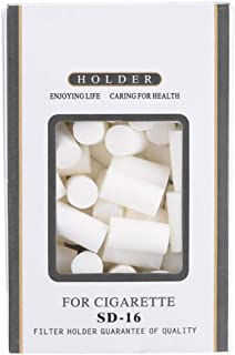 Raw Cigarette Cotton Sponge Head Filter Tips with Filterable Tobacco Holder