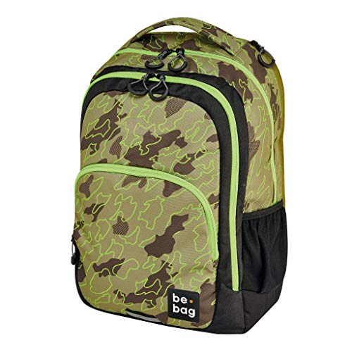 be.bag 24800259 Rucksack be.ready, 45cm, 30 Liter, abstract camouflage