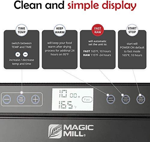 Magic Mill Food Dehydrator Machine