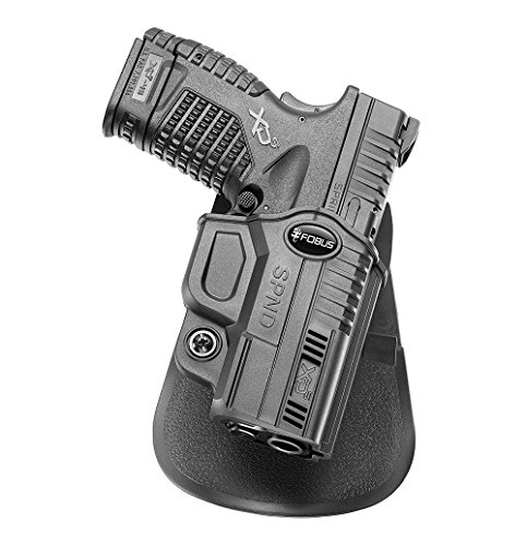 "in budget affordable Hidden holster for carrying oars Fobus SPND Springfield XDS, 3.3 ""and 4"