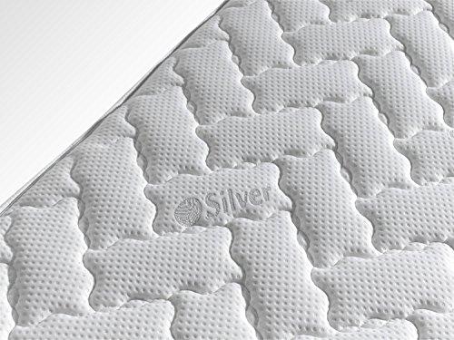 SIMPUR RELAX | Matelas Premium à Mémoire de Forme fil d'argent Épaisseur 25 cm SILVER® | 160x200...