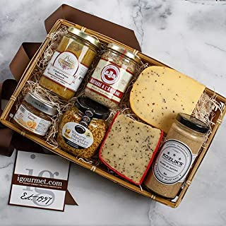 Gourmet Mustard Lover's Assortment in Gift Tray