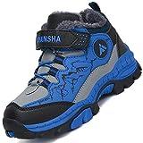 Mishansha Botas de Senderismo para Niños Calor Invierno Zapatillas de Trekking para Niña Botas de...
