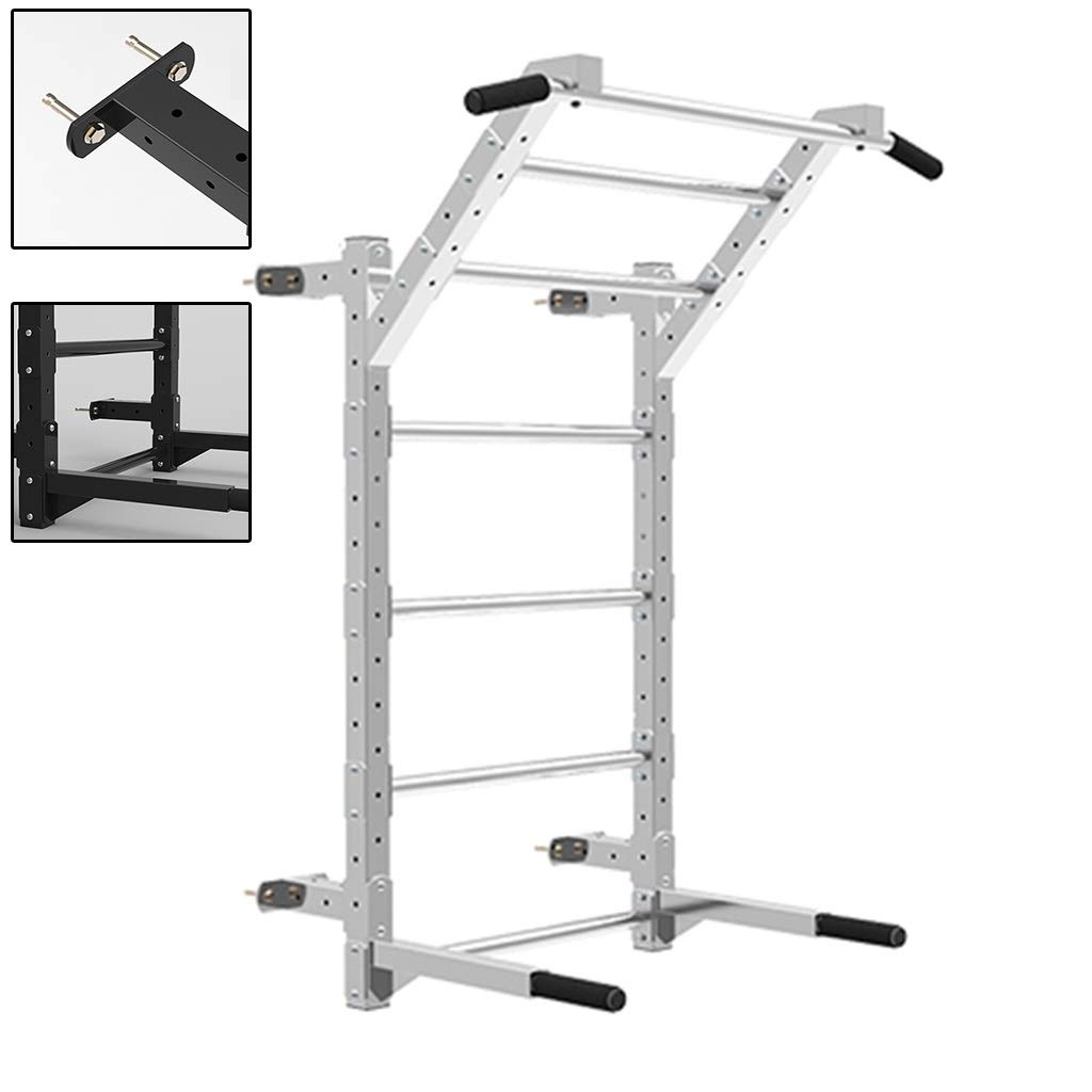 Barra Horizontal Pull-ups Pared Barras Paralelas Hogar Interior Pull-ups Costilla Marco De Rehabilitación Escalada Nube Escalera Pared Horizontal Barra (Color : Blanco, Size : 120 * 70 * 120cm): Amazon.es: Hogar