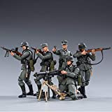 JOYTOY 1/18 Action Figures 4-Inch WWII German Wehrmacht Figure PVC Military Model Collection Toys