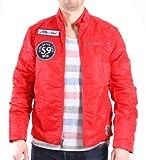 Alpha Industries Service Jacket, Größe:XL, Farbe:spicy red