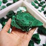 Fashio Decoraciones para el hogar 1 Uds 400g malaquita Natural Piedra cruda Cristal Natural energía decoración de la Boda Acuario